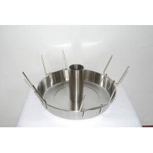 Carimbo de aço inoxidável para peças de churrasco