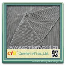Kordsamt-Gewebegroßverkauf der neuen Art der Art ziemlich eleganter Polyester kundenspezifischer
