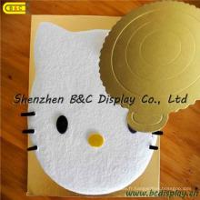 Vente chaude de beaux tambours de gâteau pour l'usage de nourriture, mini panneaux de gâteau avec le GV (B & C-K025)