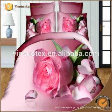 Japan New 3D Print Wedding Bedding Set Wholesale