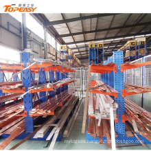 heavy duty steel pipe warehouse storage cantilever rack