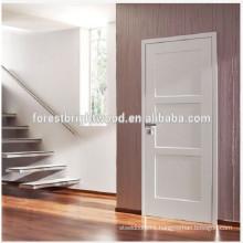 Hot Interior Doors,Cheap price Stile and Rails Wooden doors,White moden design Interior Bedroom Doors