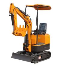 Small Excavator 1000kg Mini Backhoe
