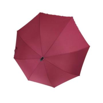 Red Pongee Straight Umbrella (JYSU-23)