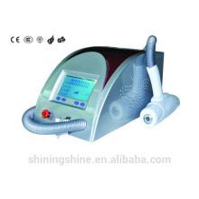 2016 venda quente máquina de remoção de tatuagem de laser baratos