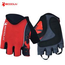 Neueste Art und Weise spezialisierte kundenspezifische Fahrrad-Handschuhe mit Gel-Auflage (214000)