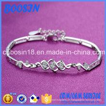 Bracelet en argent simple pas cher pour les filles