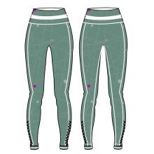 Pantalon fait sur commande de yoga de conception chaude pour l'usage coloré de forme physique de femmes