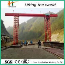 Single Girder Gantry Crane Electric Hoist Cranes