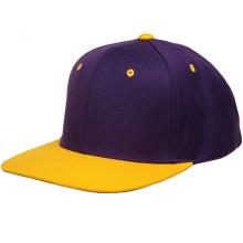 Пользовательские желтые фишки для хип-хопа с 6-ю панелями Snapback Caps