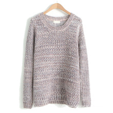 PK18D08YF woman open stitch loose thin sweater for spring summer