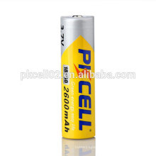 Capacidade alta da bateria do li-íon de ICR18650 3000mAh