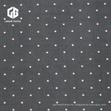 Speckle Polyester Spandex Penetración Impreso Jersey único