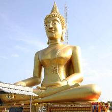 Muito, grande, nepal, handmade, outdor, sentando, meditar, buddha, estátua