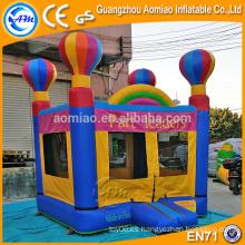 Casa segura de la despedida del juego del jardín de la infancia, gorila del bebé, castillo bouncy para la venta