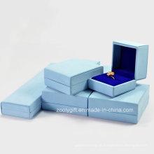 Qualidade pu couro jóias caixas colar / pulseiras / brinco caixa de presente
