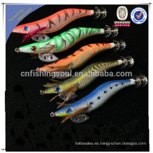 FSQL005 china alibaba pesca señuelo componente molde calamar artificial