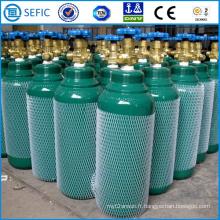 Cylindre de gaz en acier sans couture à haute pression de 8L (ISO165-8.0-20)