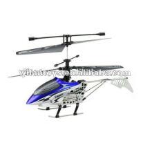 8001G RC 2.4G mini helicóptero Sky King 4Ch com giroscópio e luz LED