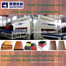 1400Ton double sides melamine hot press machine for laminating 4x8 board