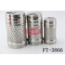 Stainless Steel Salt Canister (FT-3866)