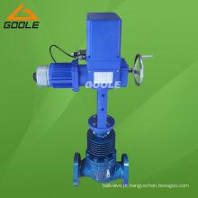 Válvula de controle de fluxo elétrico de alta temperatura (GVZAZP)