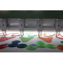 Cadena puntada / toalla / Chenille 21 máquina de bordado de la cabeza precio barato