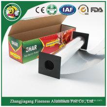 Papel de aluminio de la categoría alimenticia para el alimento / cocinar
