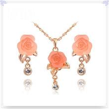 Jóias de cristal Jóias de moda Conjuntos de jóias em liga (AJS105)
