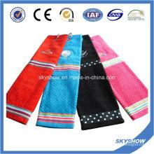 Toalla de golf 100% algodón bordado (SST1020)