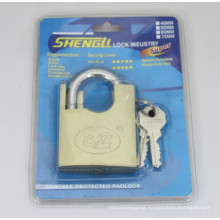 Imitate Brass Shackle Protected Padlock (ISP)