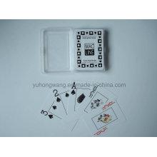 Calidad de juego de tarjeta de juego de cartas, juego de mesa con caja de PP