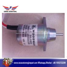 Yanmar engine part  solenoid 119233-77932
