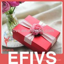 Red Delicate casamento favor Caixa Embalagem do fornecedor