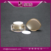 2016 special shape with new design cream jar, large plastic jars