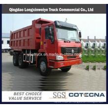 Caminhão de descarregador 60ton de 375HP 6X4 Sinotruck HOWO