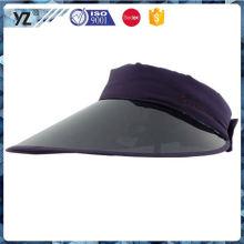 Best selling high safety pvc visor cap for wholesale