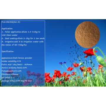 Fulvic Acid Fertilizer with Potassium