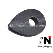 12mm din 3091 carbon steel heavy wire cable wire rope thimbles manufacturer
