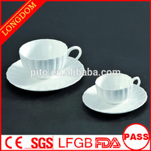 P&T porcelain factory directly coffee cup set, tea cups and saucers