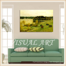 2015 Newest Landscape Oil Painting For Wall Decoration