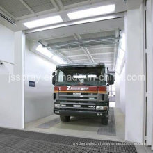 Popular Water Based Paint Spay Booth for Car Industrial