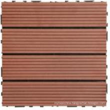 WPC Portable Outdoor Flooringtile with CE/SGS/ISO (300X300mm)
