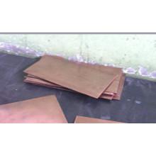 Tungsten Copper Sheet / Wcu Alloy Sheet / Heat Sinks de l'emballage électronique / Tungsten Copper Composite (WCu)