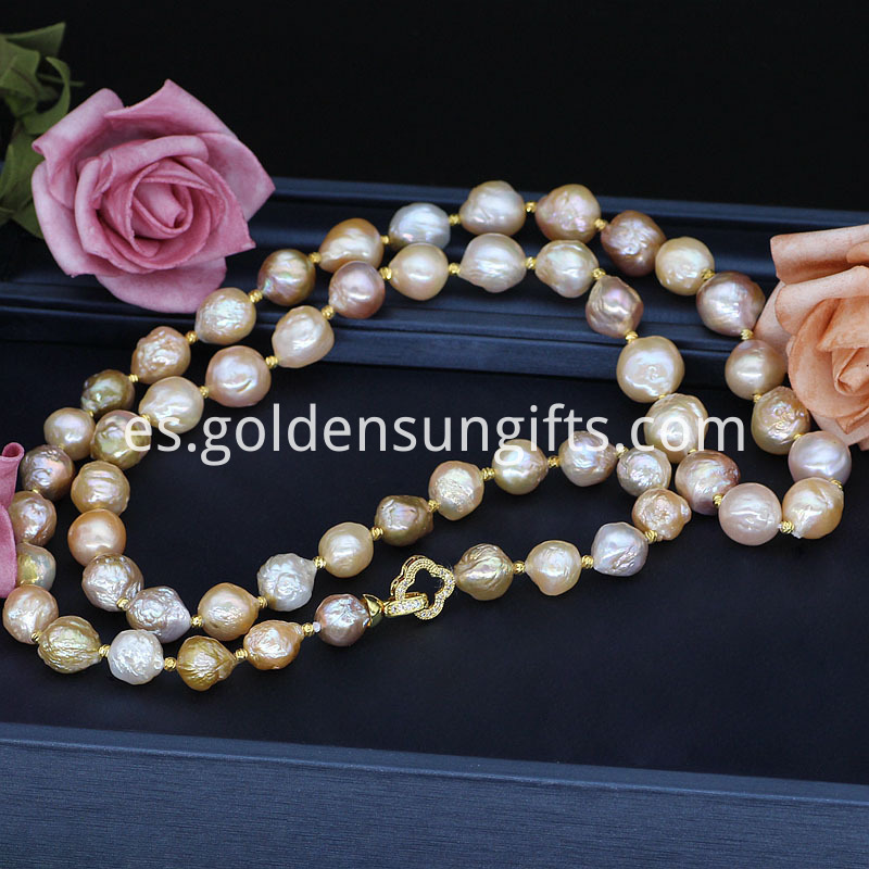 High Quality Baroque Pearl Necklace