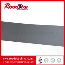 Normale reflektierende Mikrofaser Leder mit reflektierender Farbe grau für Schuhe