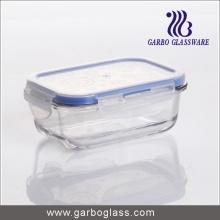 Microwave Safe Heat Resistant Glass Storage Bowl for Supermarket Promotion