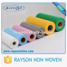 China supplier polypropylene tnt non woven fabric roll