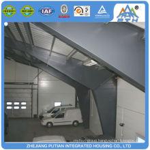 Low cost superior steel door prefab carports