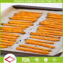 Papeles antiadherentes de pergamino vegetal Revestimientos de hoja para hornear